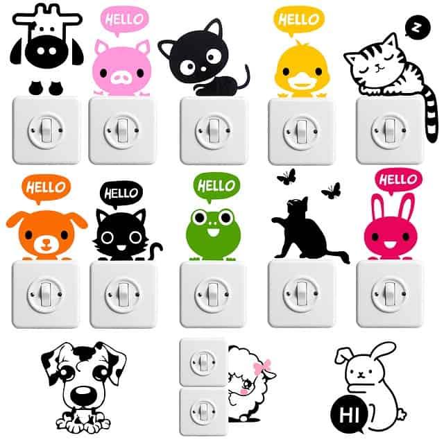 חיתוך מדבקות בלייזר Stickers and labels מדבקות ותוויות